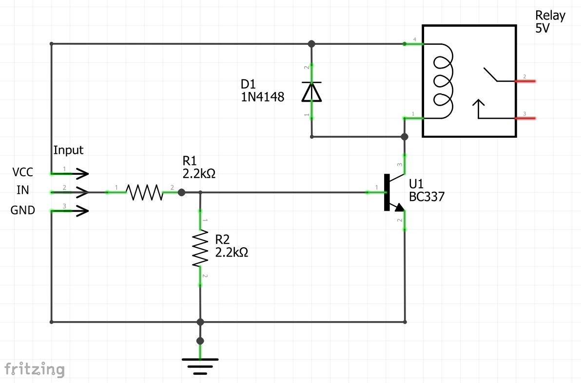 Difference between relay driver circuits ccuart Images
